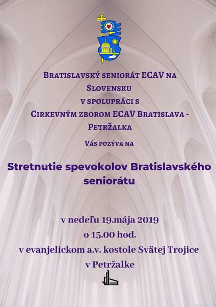 Stretnutie spevokolov Bratislavského seniorátu