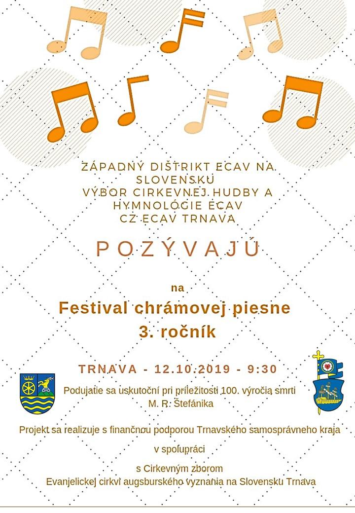 Festival chrámovej piesne